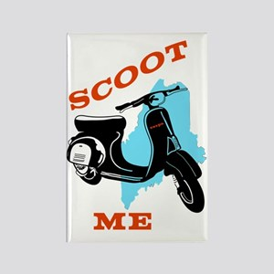 Scoot ME Rectangle Magnet