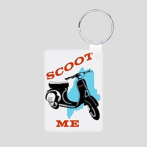 Scoot ME Aluminum Photo Keychain