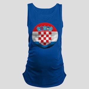 Croatia Football Maternity Tank Top