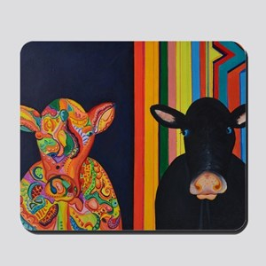 Two cows Mousepad