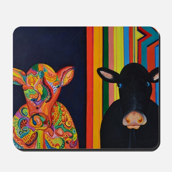 Two cows Mousepad