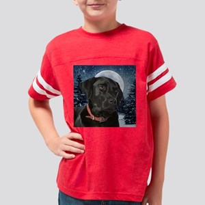 Black Lab Youth Football Shirt