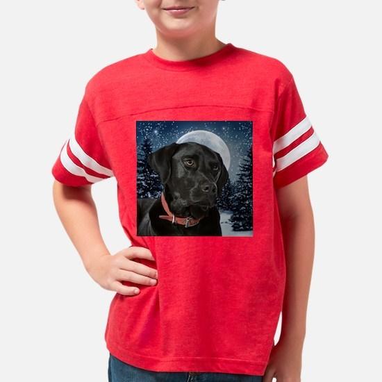 Black Lab Youth Football Shirt