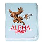 Alpha UMAD? baby blanket