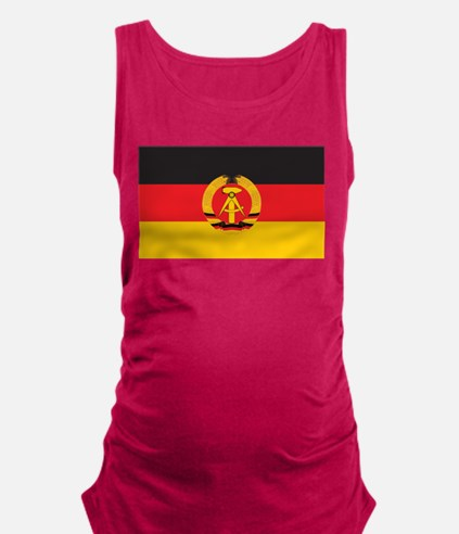 East Germany Flag Maternity Tank Top