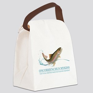 Rainbow Trout (OM) Canvas Lunch Bag