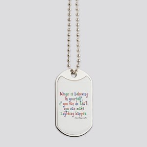 Goethe jewelry cafepress magic believe in yourself dog tags solutioingenieria Image collections