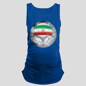 Iran Soccer Maternity Tank Top