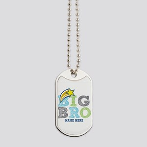 Star Big Bro Dog Tags