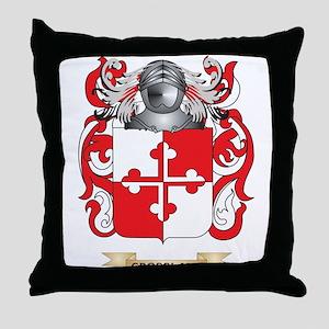 Crossland Coat of Arms Throw Pillow