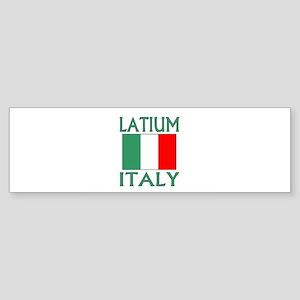 Latium, Italy Bumper Sticker