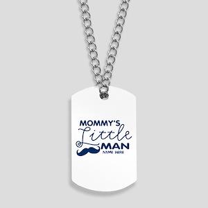 Custom Mommys Little Man Dog Tags