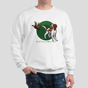 Irish Red and White Setter Sweatshirt