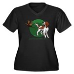 Irish Red and White Setter Plus Size T-Shirt