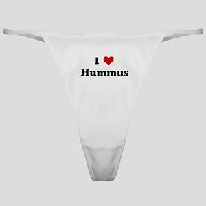 I Love Hummus Classic Thong
