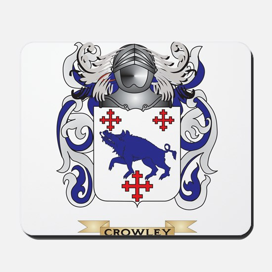 Crowley Coat of Arms Mousepad