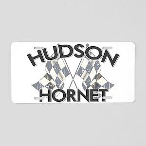 Hudson Hornet Aluminum License Plate