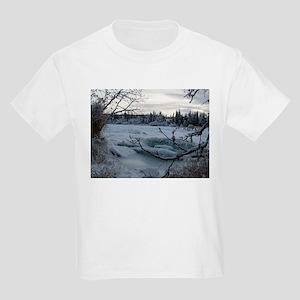 Kenai River, Glacier Kids T-Shirt