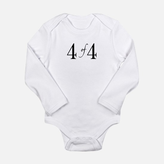 4 of 4 (4th child) Body Suit
