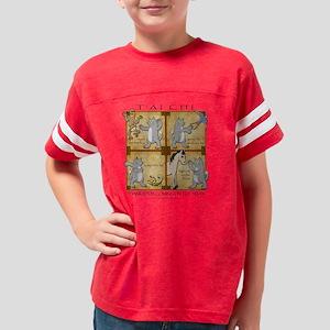 TaiChiCat2 Youth Football Shirt