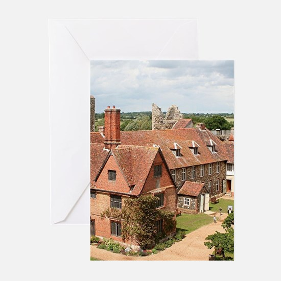 Framlingham Castle, Suffolk, Englan Greeting Cards