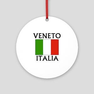 Veneto, Italia Ornament (Round)