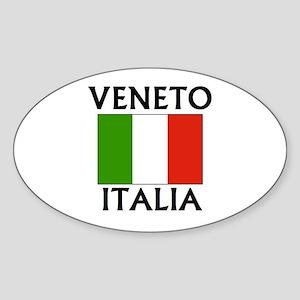 Veneto, Italia Oval Sticker