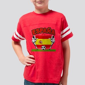 spain champions d Youth Football Shirt