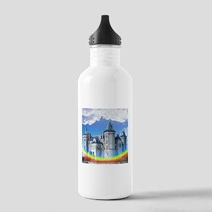 Castle In The Clouds Water Bottle