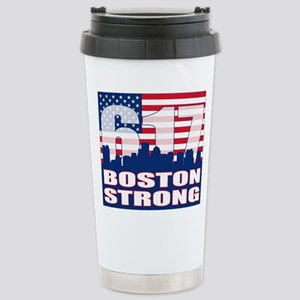 Boston Strong Stainless Steel Travel Mug
