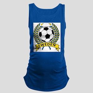 Soccer Sweden Maternity Tank Top