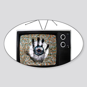 Touched Television Sticker