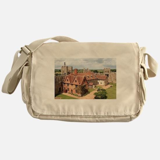 Framlingham Castle, Suffolk, England Messenger Bag