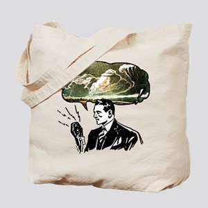 Partly Cloudy With A Chance Of Disaster Tote Bag