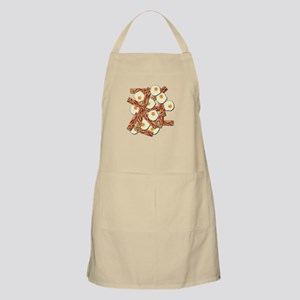 Bacon and Eggs Pattern Apron