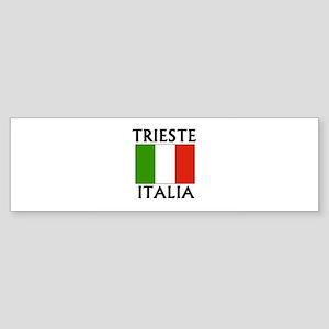 Trieste, Italia Bumper Sticker