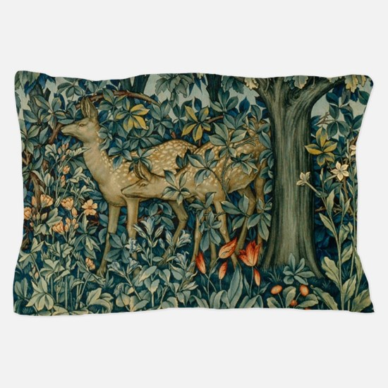 Greenery by William Morris Pillow Case