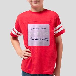 RightAngle_Master_pink_10x10 Youth Football Shirt