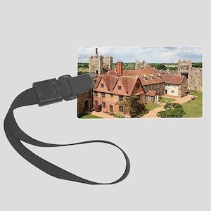 Framlingham Castle, Suffolk, Eng Large Luggage Tag