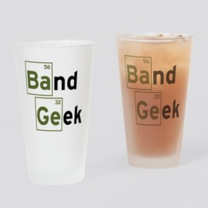 Funny Band Geek Drinking Glass