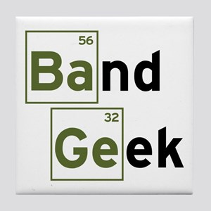 Funny Band Geek Tile Coaster
