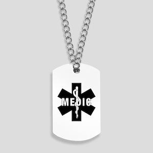Medic EMS Star of L... Dog Tags