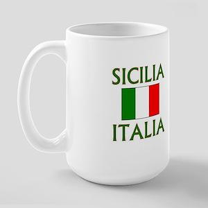 Sicilia, Italia Large Mug