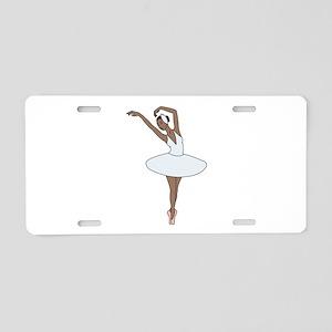 Ballet Dancing Aluminum License Plate
