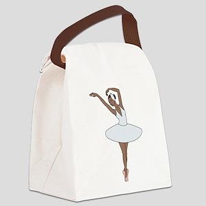 Ballet Dancing Canvas Lunch Bag