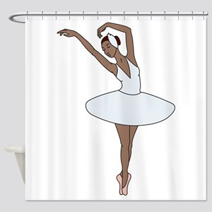 Ballet Dancing Shower Curtain