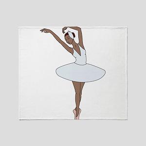 Ballet Dancing Throw Blanket