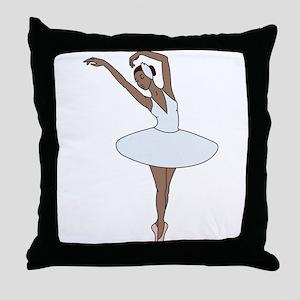 Ballet Dancing Throw Pillow
