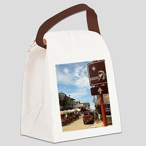 Montanita Beach Canvas Lunch Bag