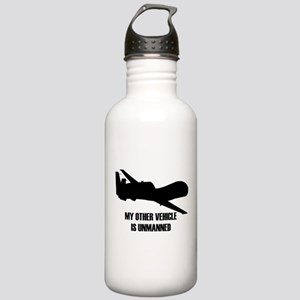 my other vehicle is unmanned Water Bottle